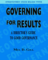 Governing For Results - Front Cover